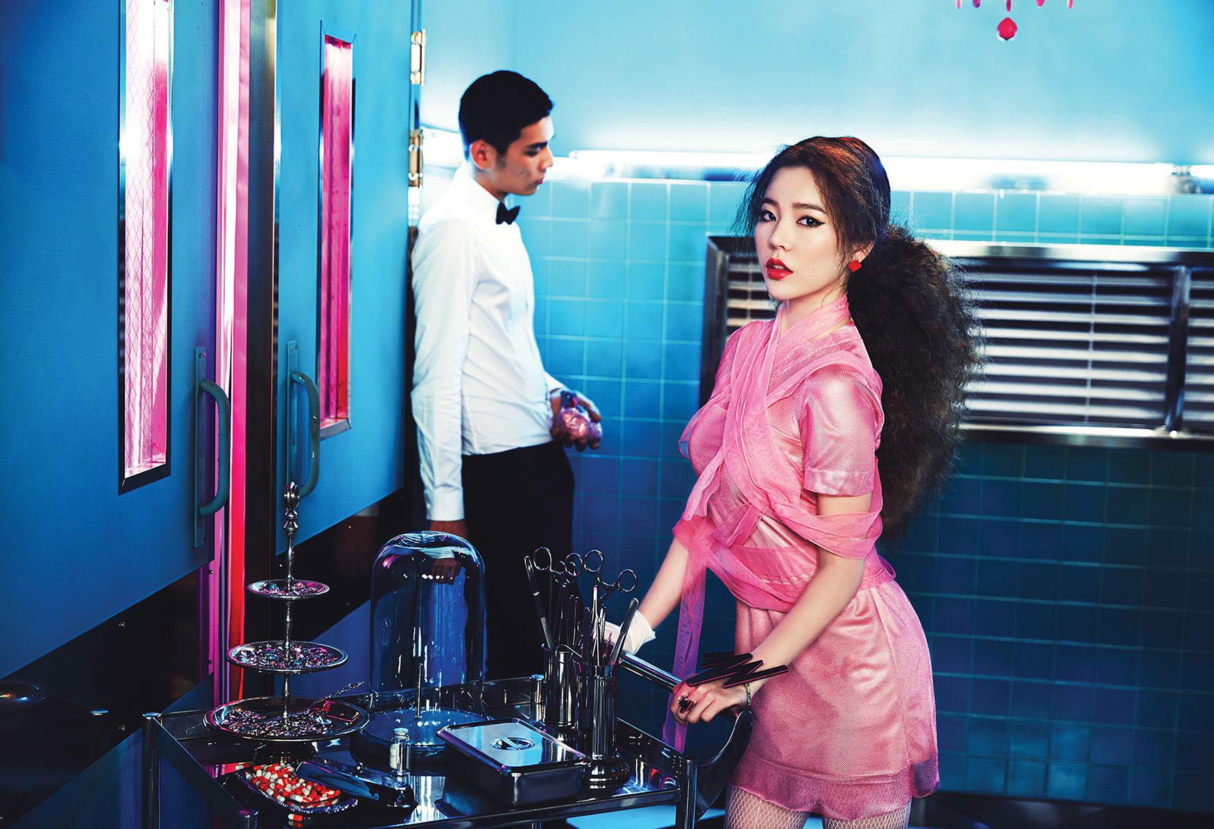 Girls Generation Sunny Mr Mr Korean album