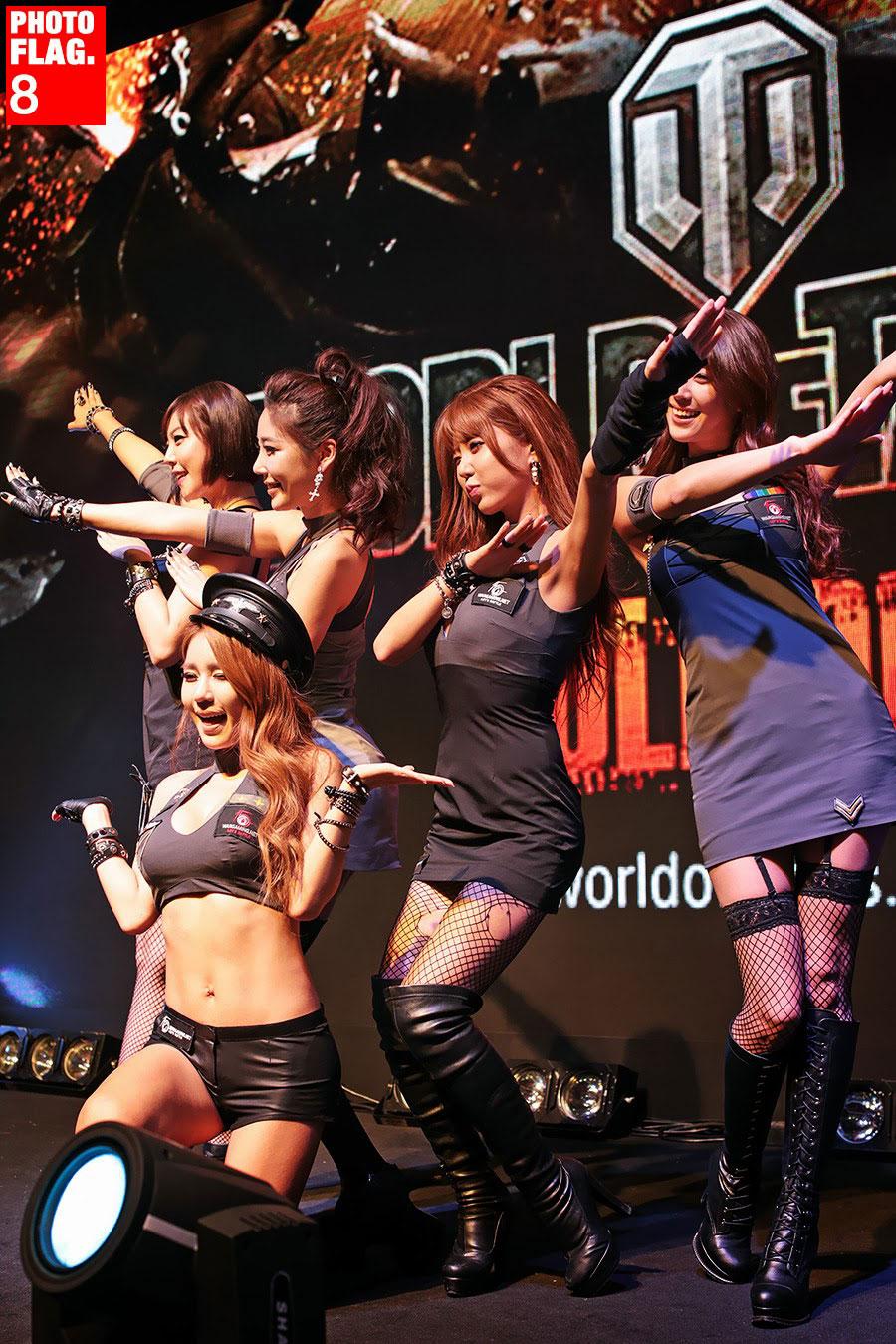 GSTAR 2013 WarGaming Korean models