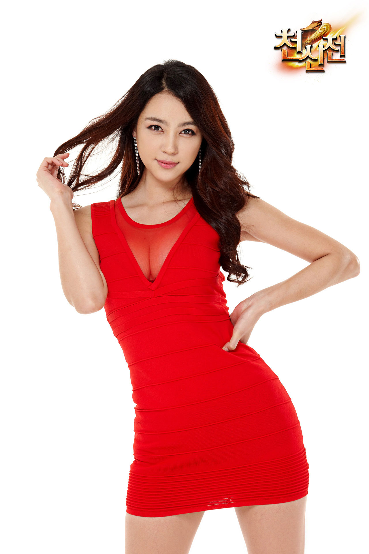 Korean model Ju Da Ha PUPU Game