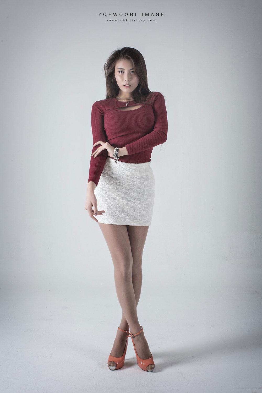 Korean model Cha Jung Ah studio