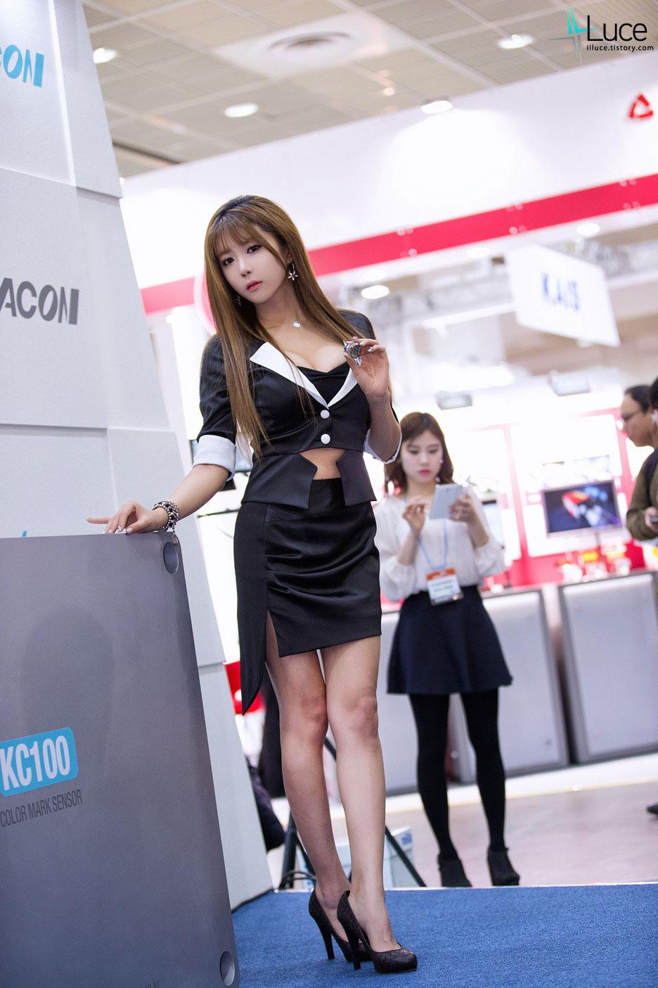 Popular Korean model Heo Yun Mi 2014
