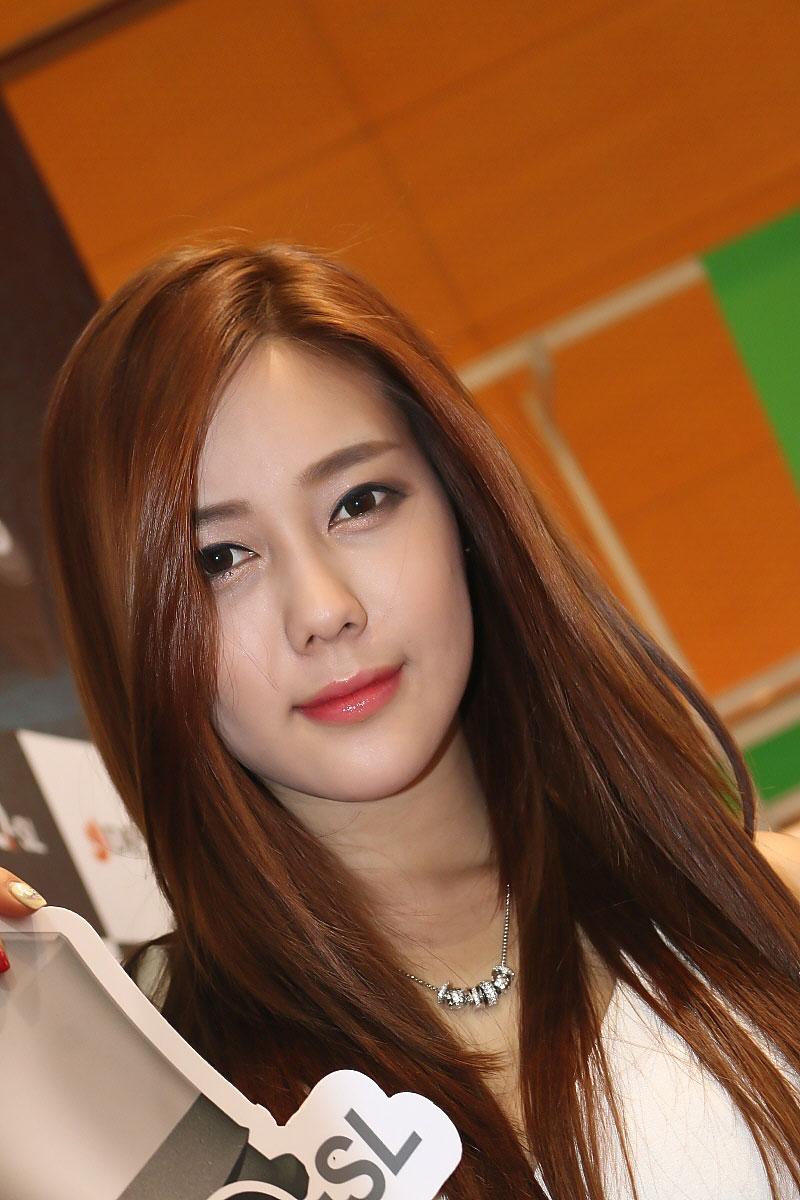 Korean model Kim Ha Yul SIDEX 2014