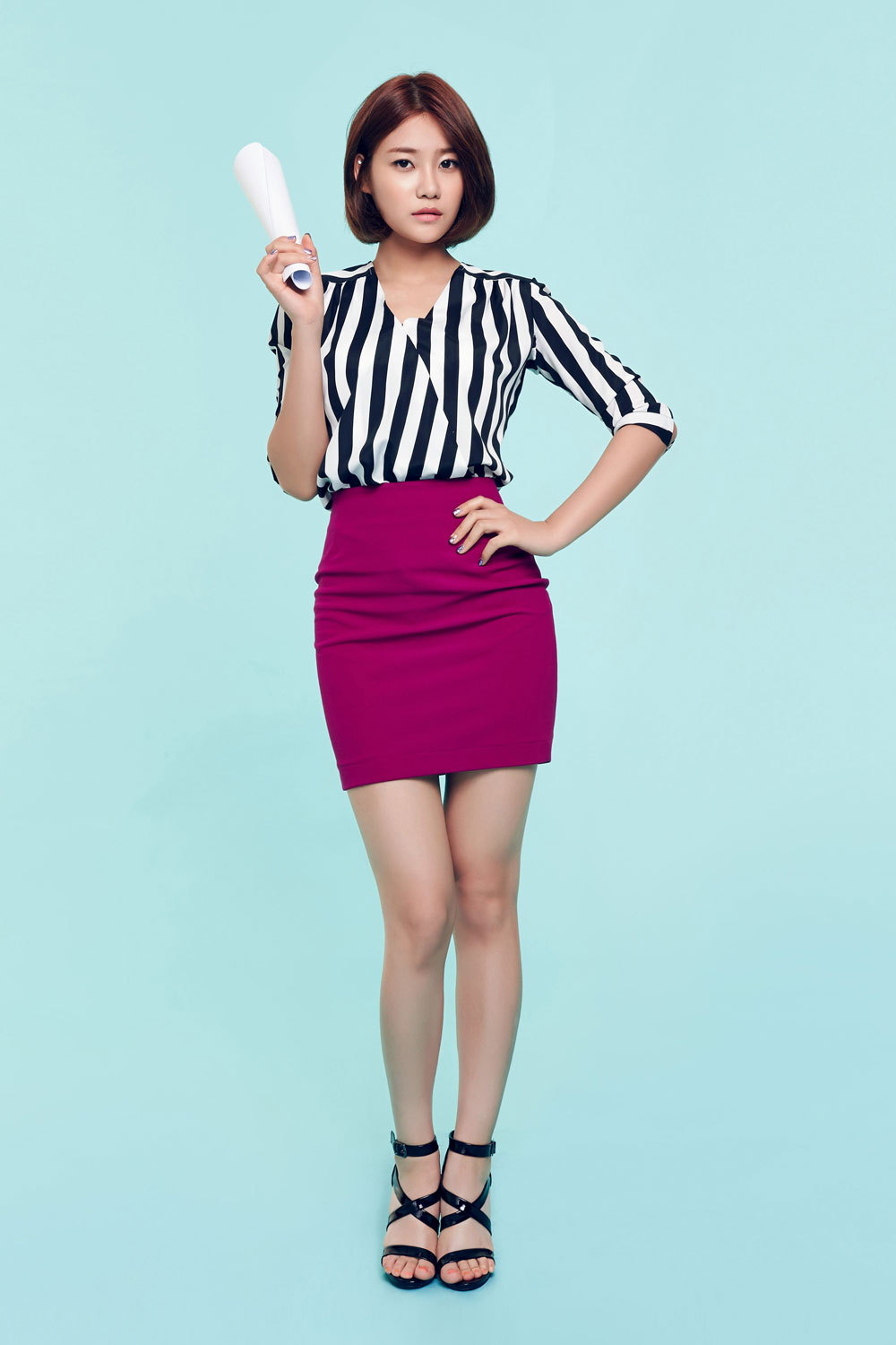 AOA Yuna Short Hair mini album