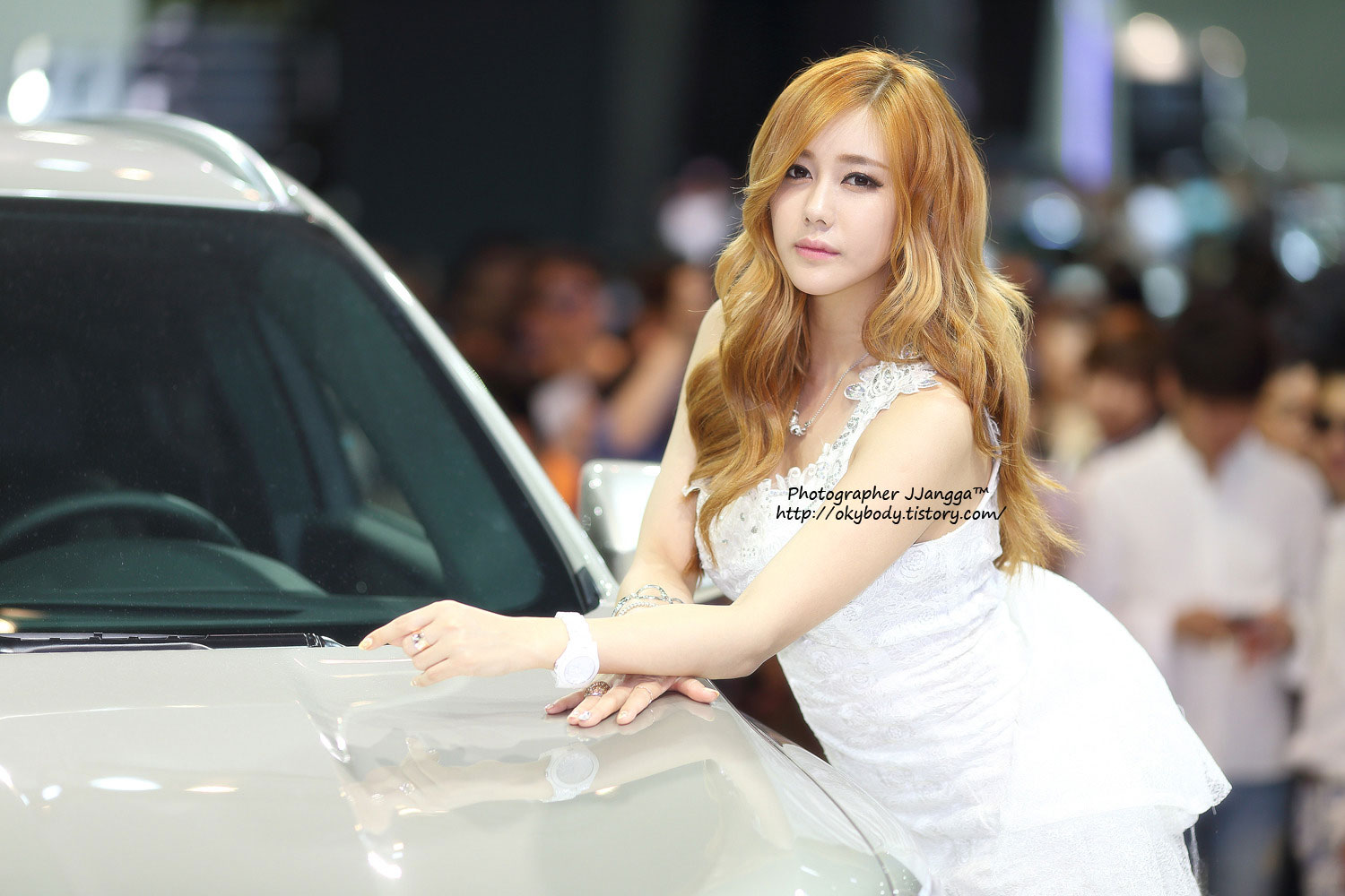 Kim Ha Yul Busan International Motor Show 2014