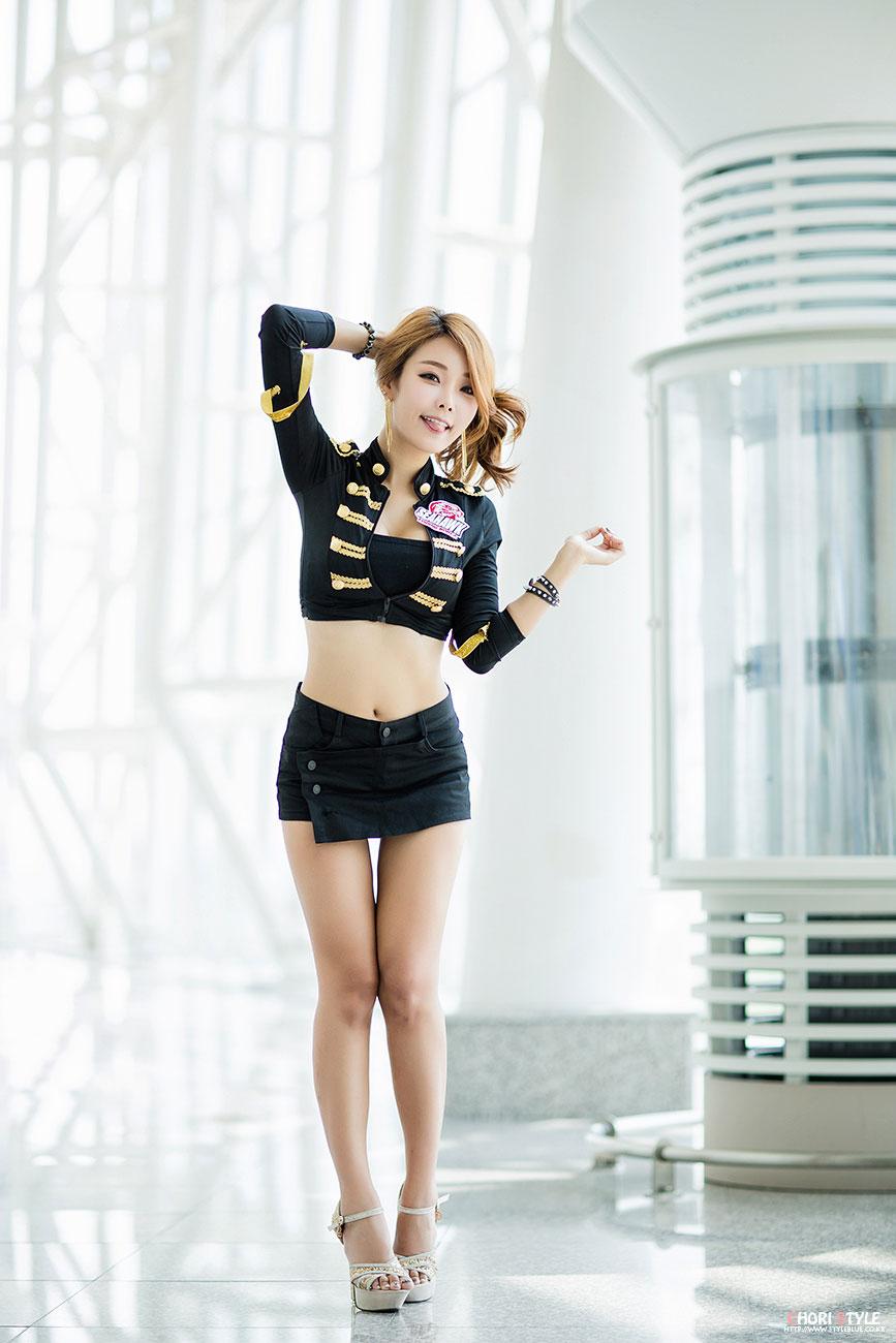 Lee Da Hee Korea International Boat Show 2014