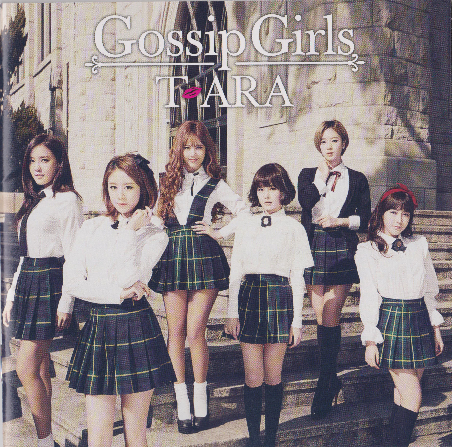 T-ara Gossip Girls Japanese album