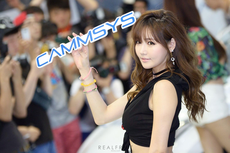 Han Ga Eun Seoul Auto Salon 2014 CammSys