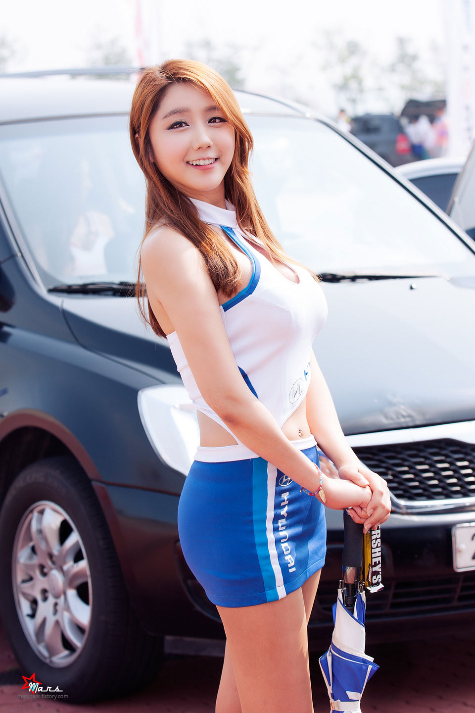 Kim Ha Eum Korea Speed Festival 2014 Hyundai