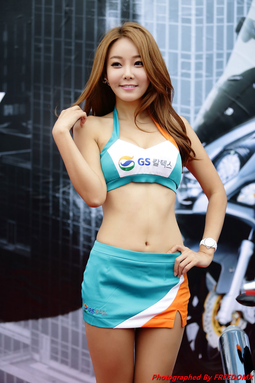Lee Da Hee Korea Scooter Race 2014 GS Caltex