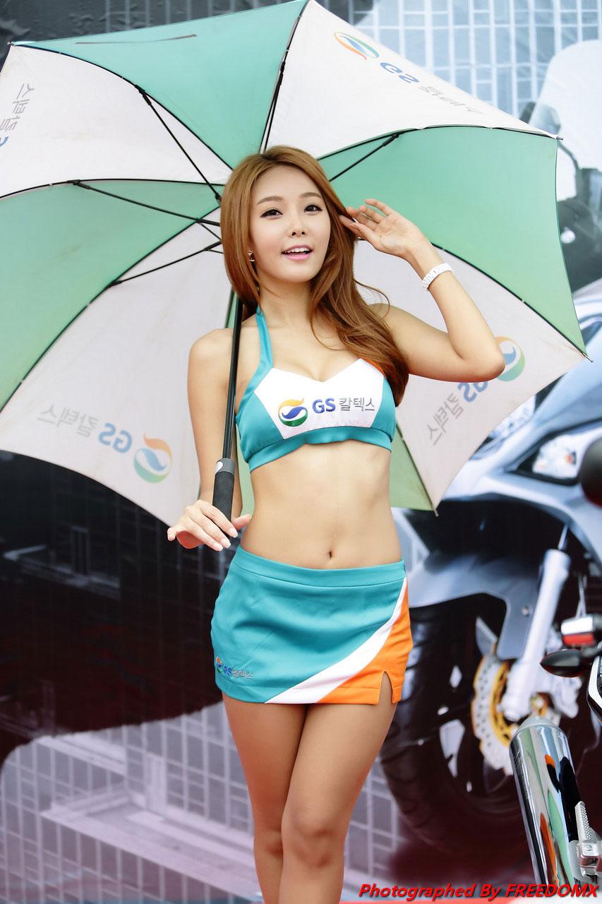 Lee Da Hee Korea Scooter Race 2014 GS Caltex