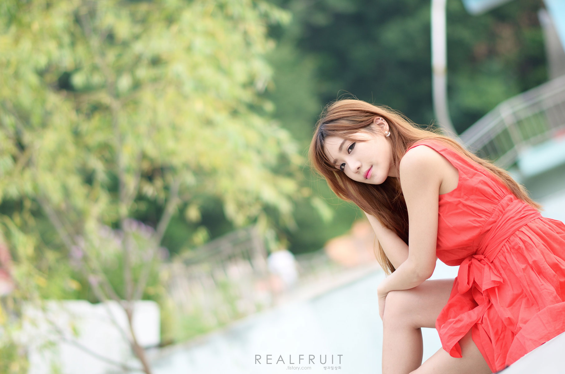 Korean model Yoon Chae Won photoshoot