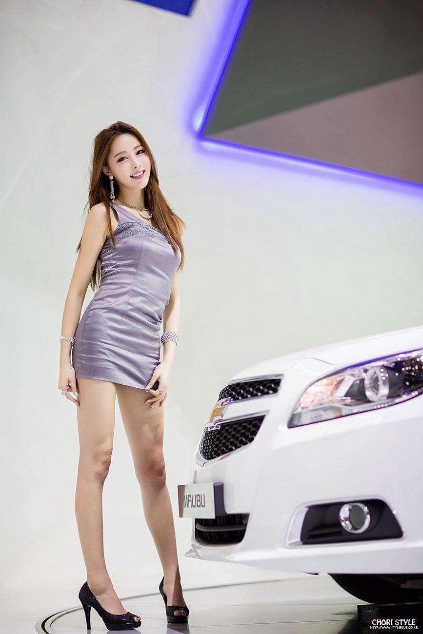 Eun Bin Busan International Motor Show 2014 Chevrolet