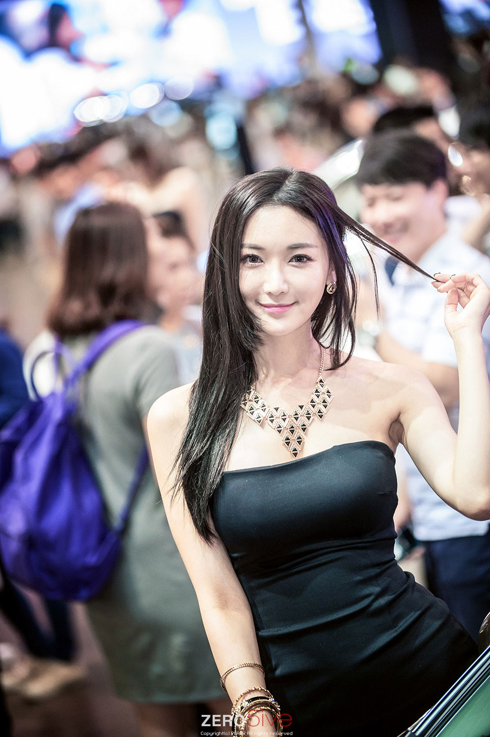 Moon Ga Kyung Busan International Motor Show 2014