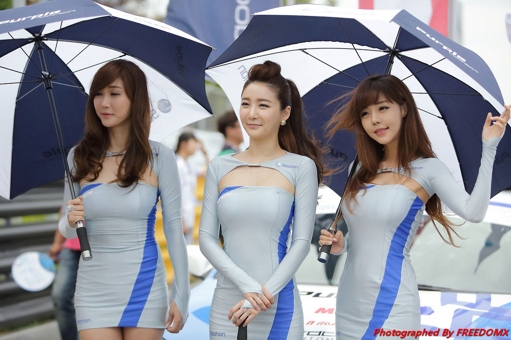 Korea Speed Festival 2014 Seohan racing models