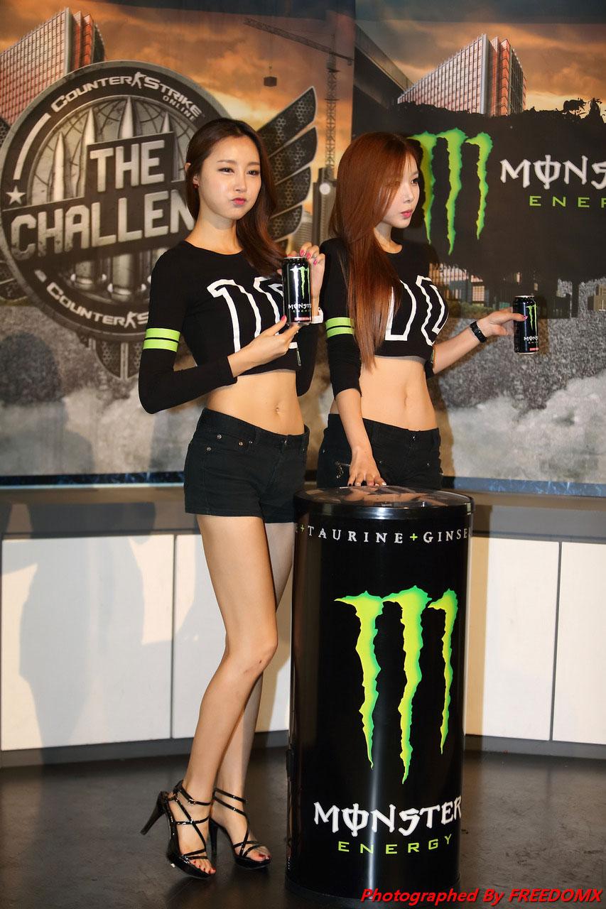 Eun Bin Lee Jin Young Monster Energy Counter Strike