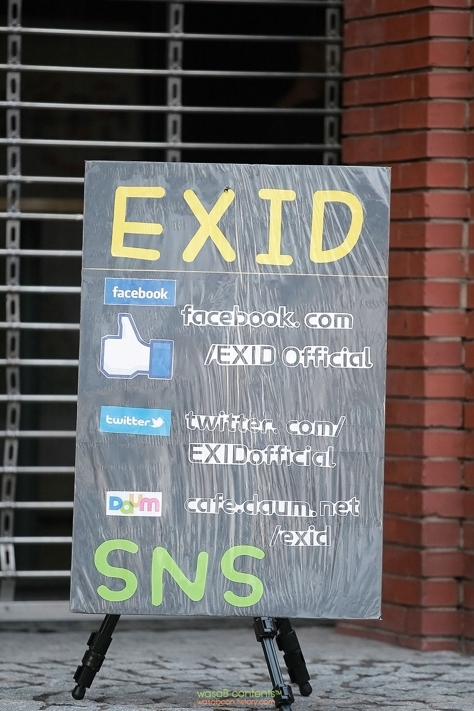 EXID official Facebook Twitter Daum Cafe