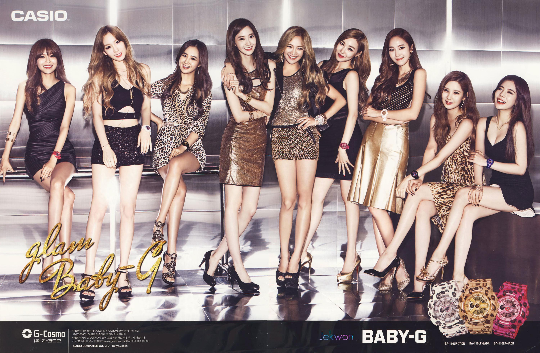 Girls Generation Casio BabyG Glam Watches