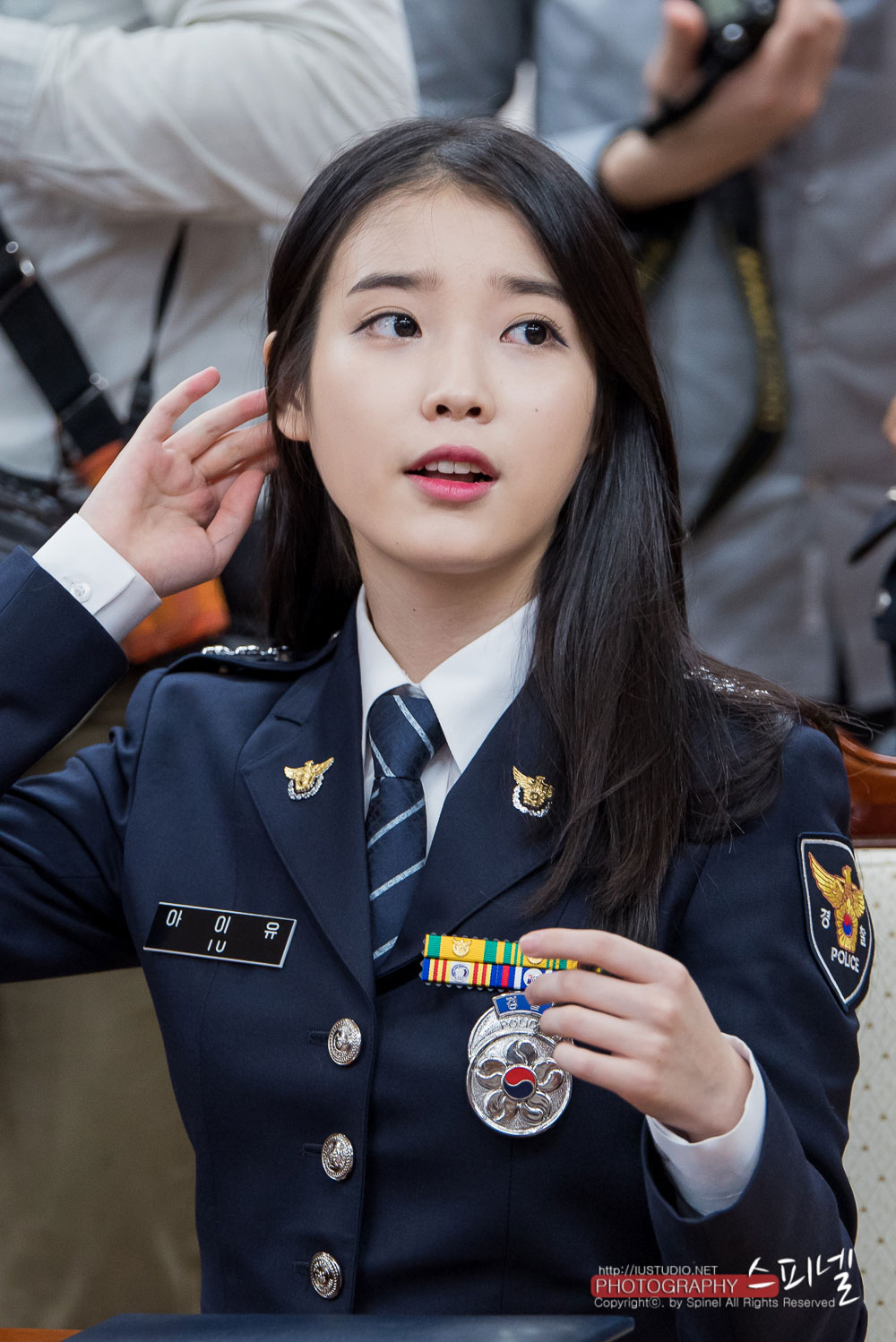 IU gets promoted to senior police officer