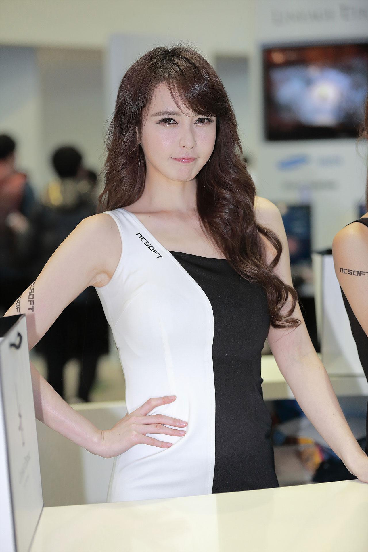Kang Yui Korean G-STAR 2014 NCSOFT
