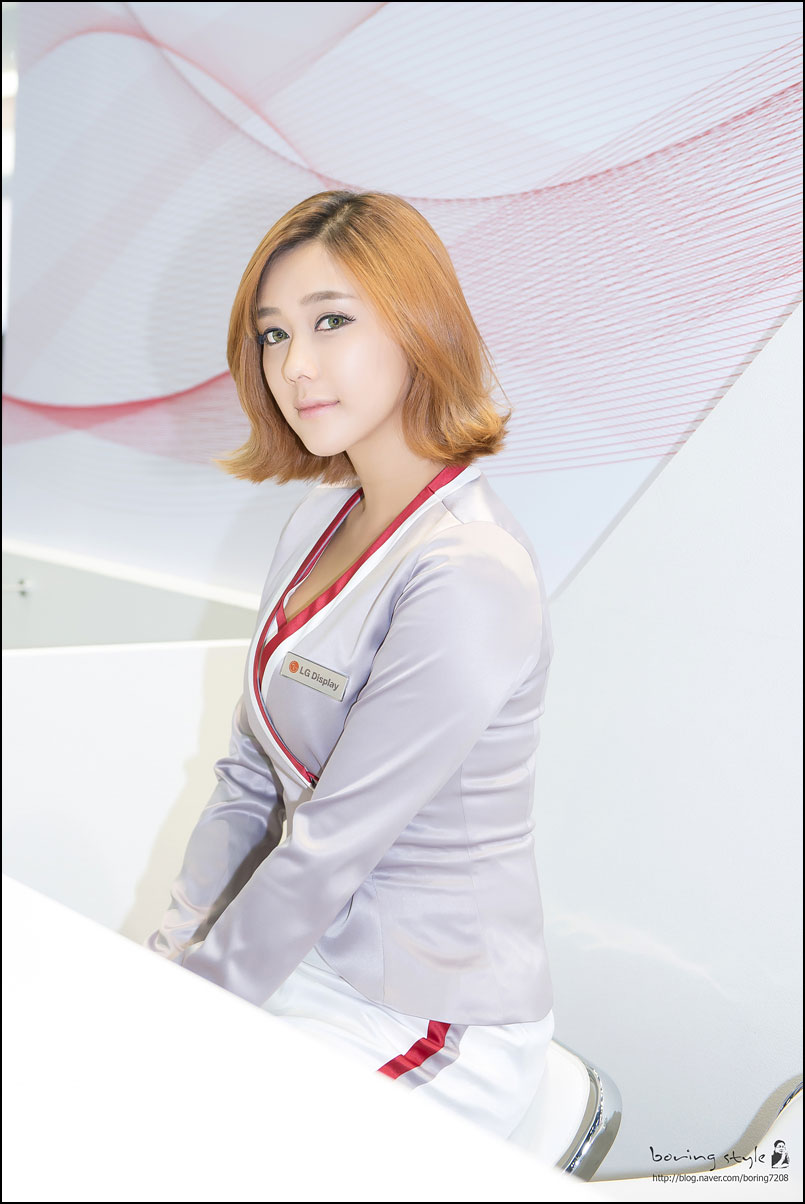 Kim Ha Yul Korea Electronics Show 2014 LG