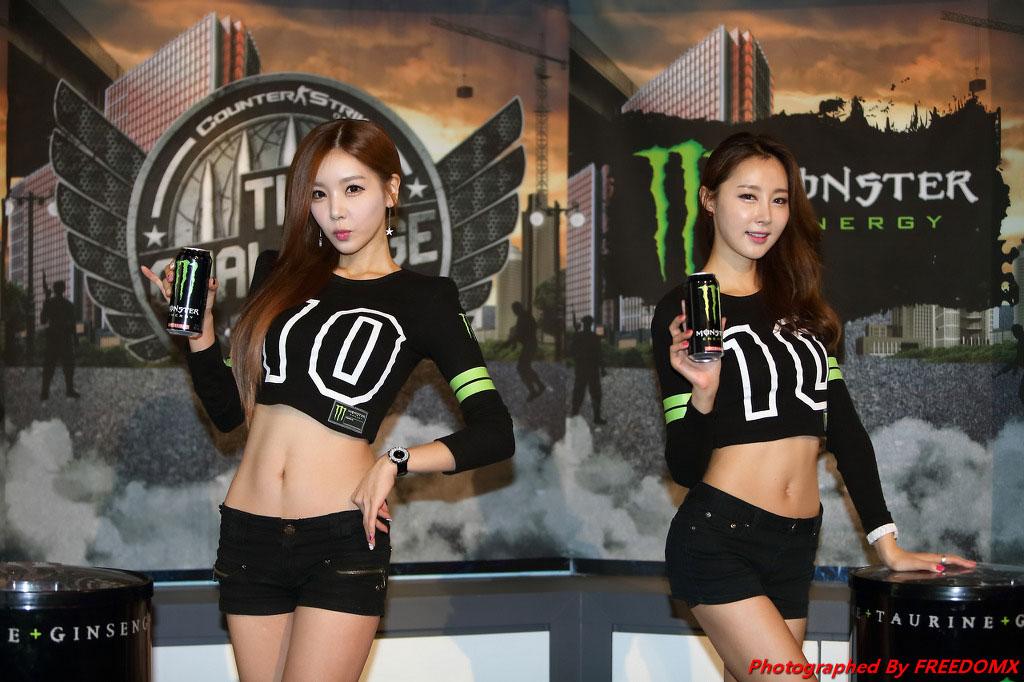 Eun Bin Lee Jin Young Counter Strike Game