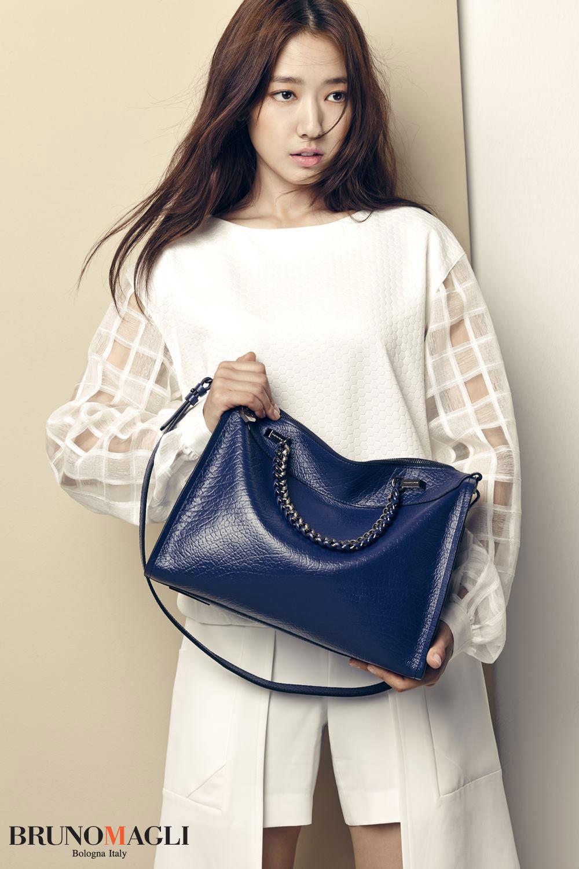 Park Shin Hye Bruno Magli Korean advertisement