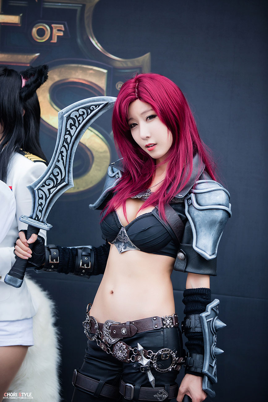 Cheon Bo Young League of Legends Katarina Cosplay