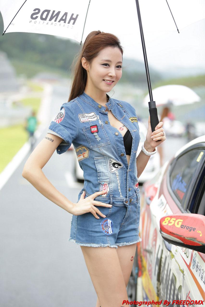 Eun Bin Korea Speed Festival 2014 Hands Motorsport