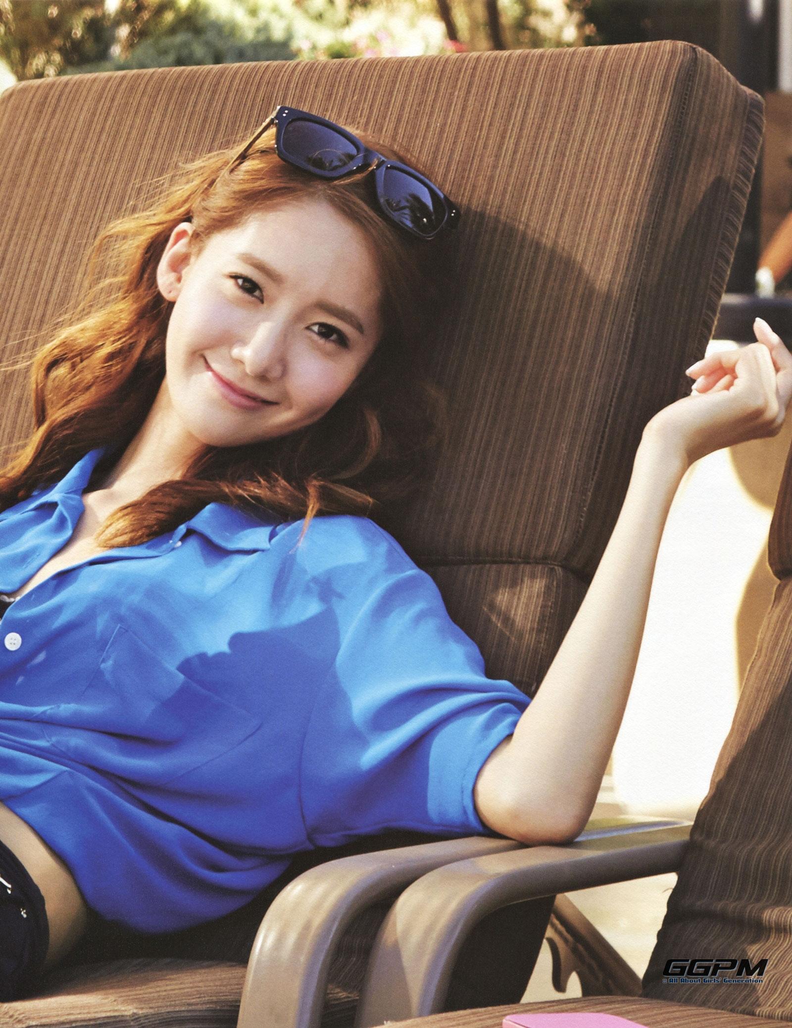 Girls Generation Yoona 7th anniversary photobook