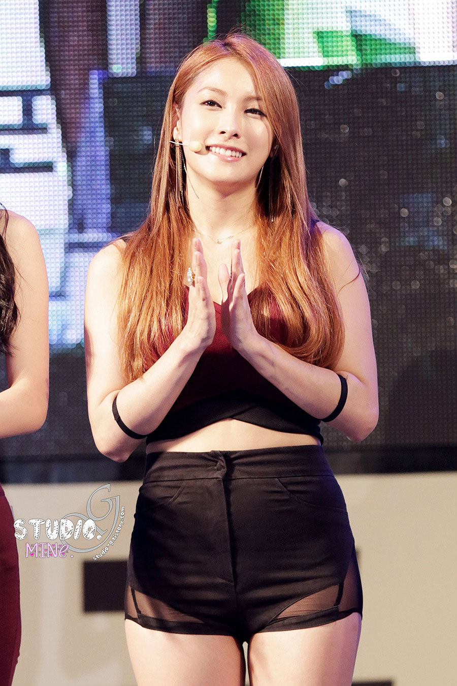 KARA Gyuri Korea Reading Festival 2014
