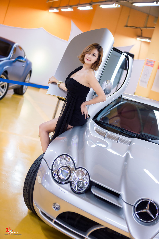 Kim Ha Yul SAG Premium Motor Show 2014