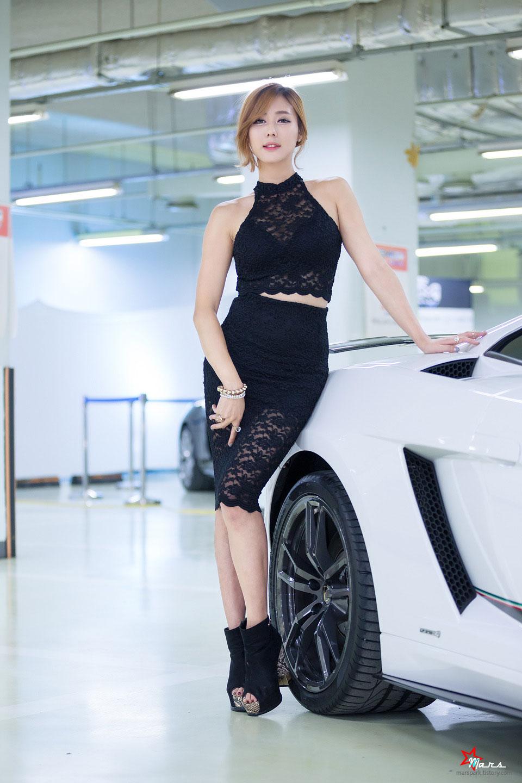 Kim Ha Yul Korean Premium Motor Show 2014