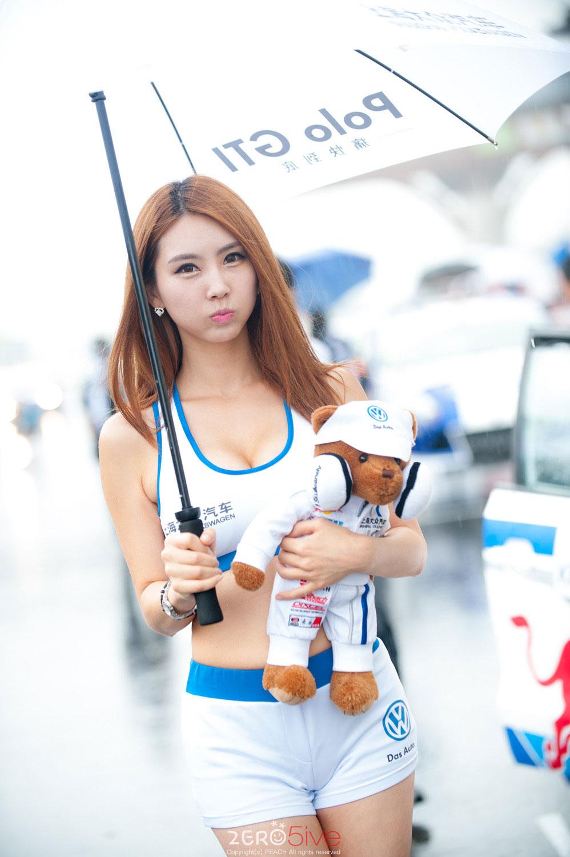 Lee Da Ryeong Super Race 2014 Shanghai Volkswagen