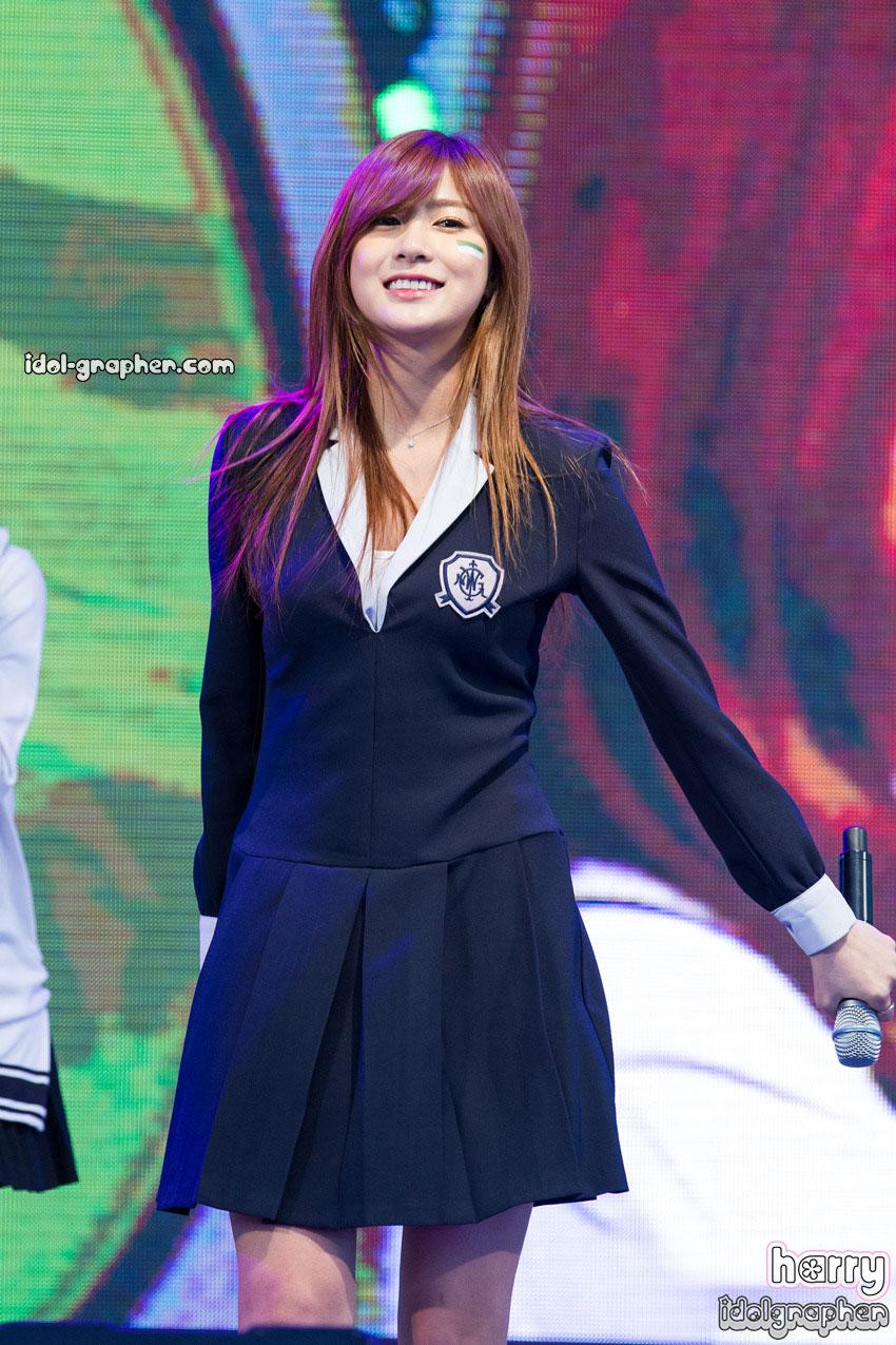 A Pink Hayoung Korean sailor uniform style