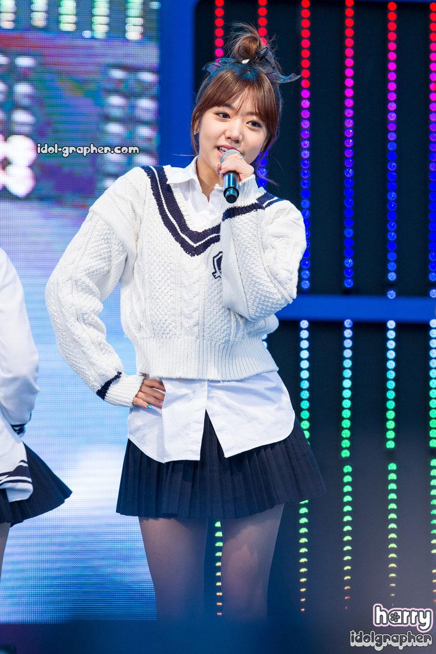 A Pink Namjoo Korean sailor uniform style