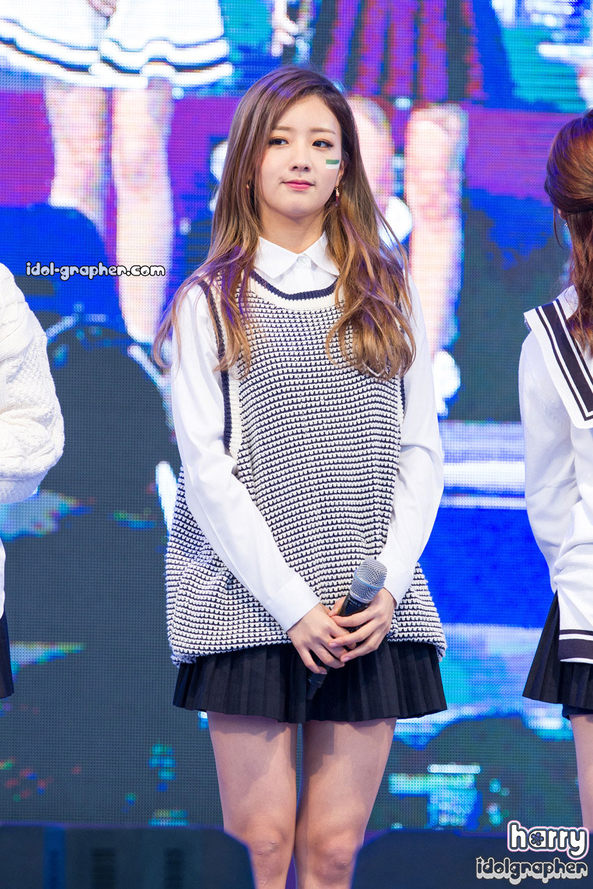 A Pink Bomi Korean sailor uniform style