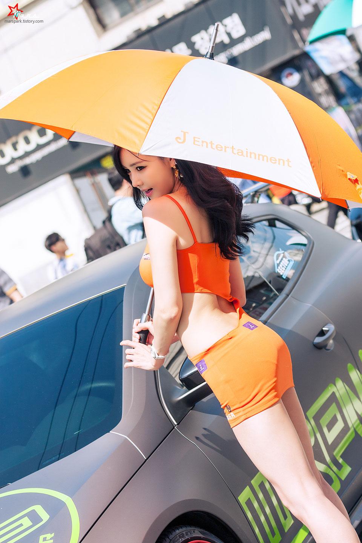 Han Ga Eun Daegu Street Motor Festival 2014