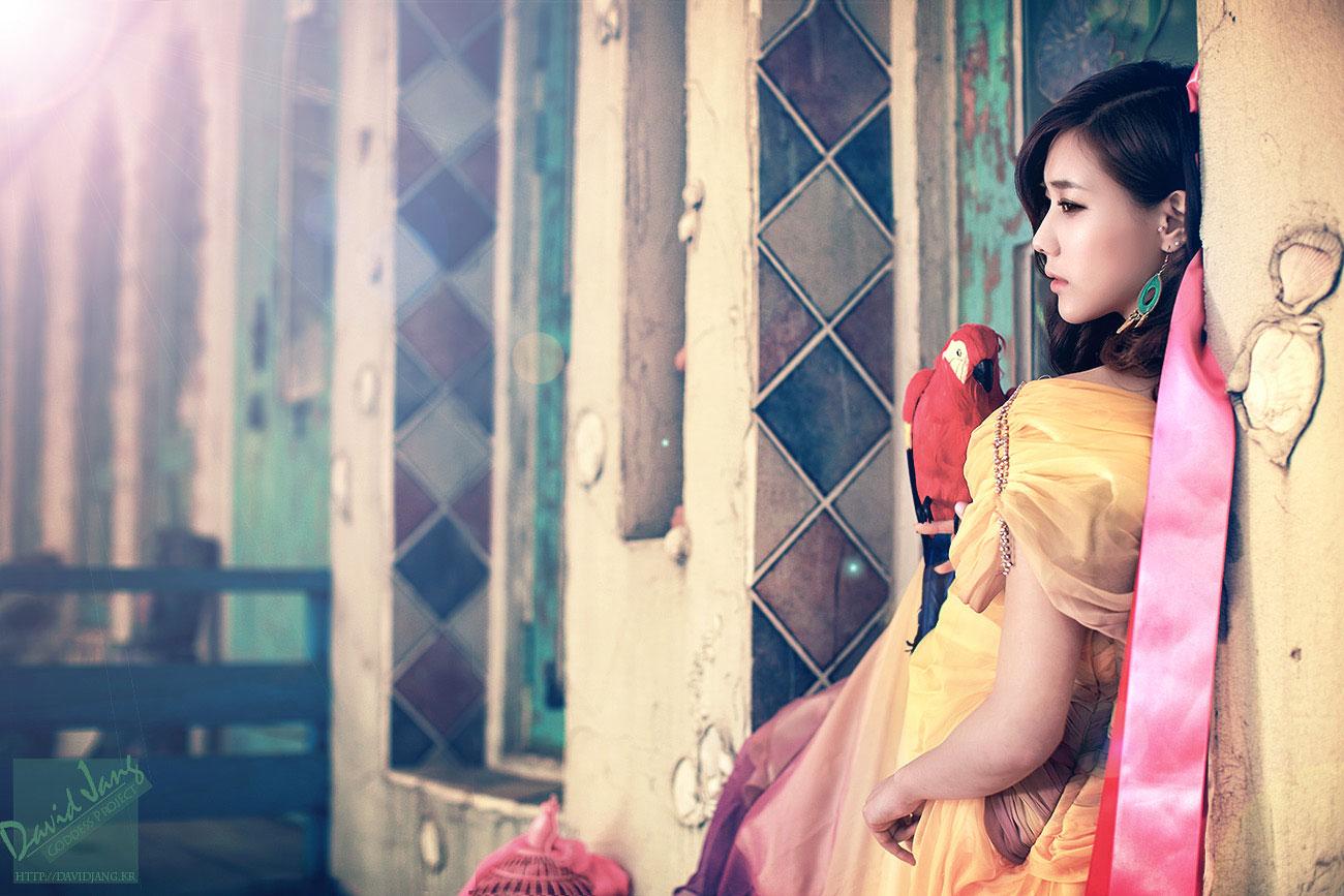 Korean model Kim Ha Yul goddess