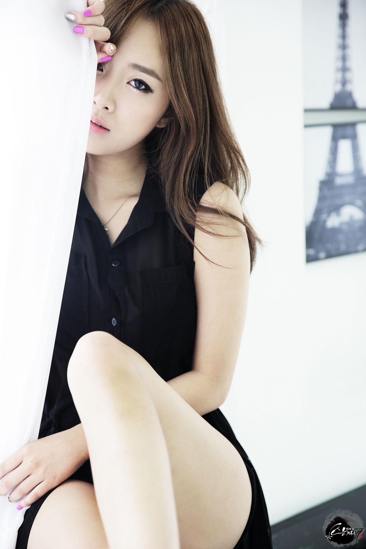 Korean model Minah portrait photoshoot