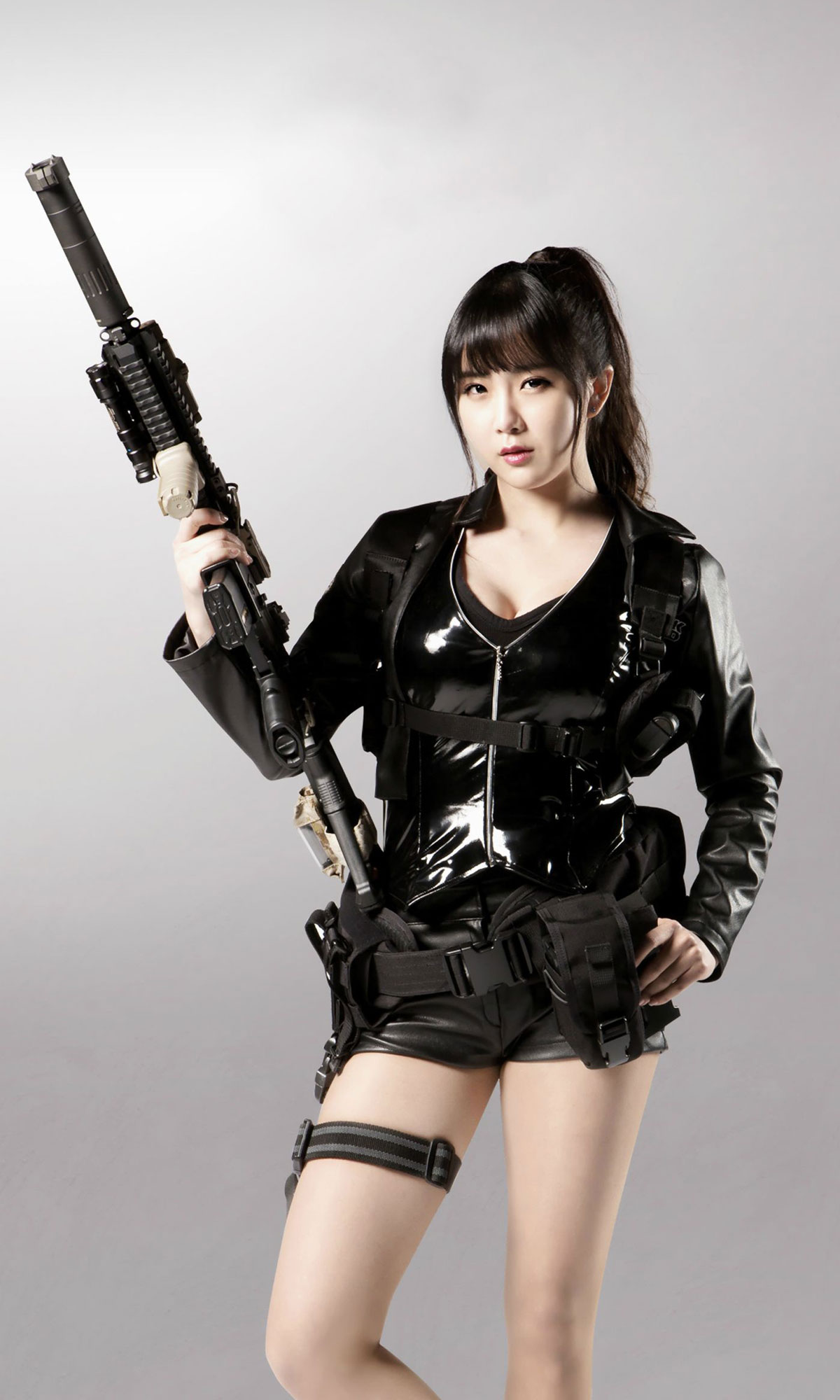 Rainbow Hyunyoung sexy game endorsement