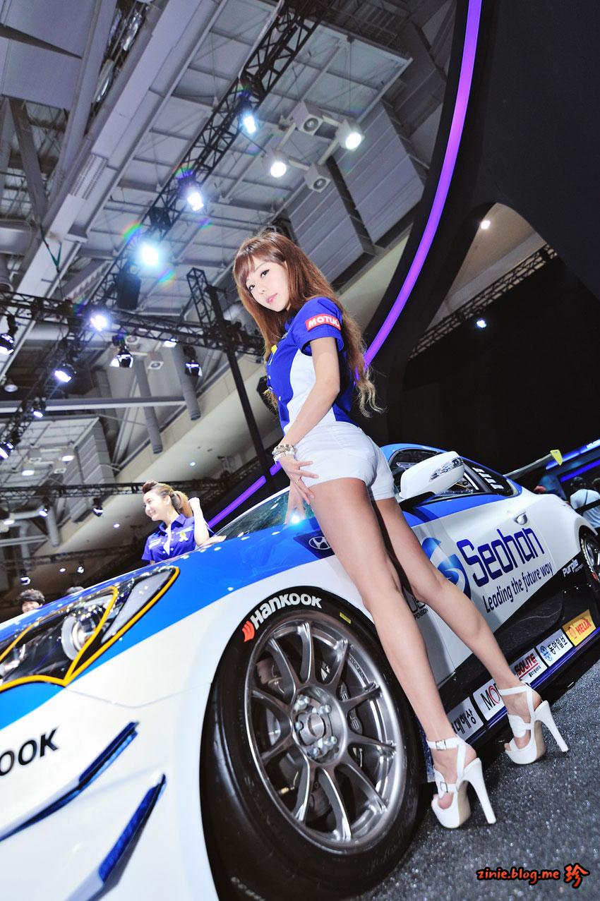 Seo Jin Ah BIMOS 2014 Purple Motorsports