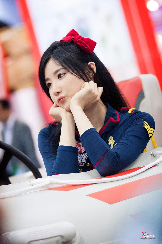 Yeon Da Bin Korea International Boat Show 2014