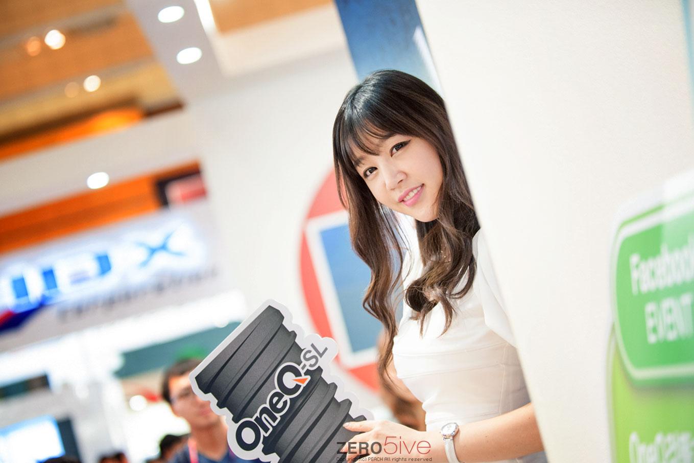 Hong Ji Yeon Seoul International Dental Exhibition 2014