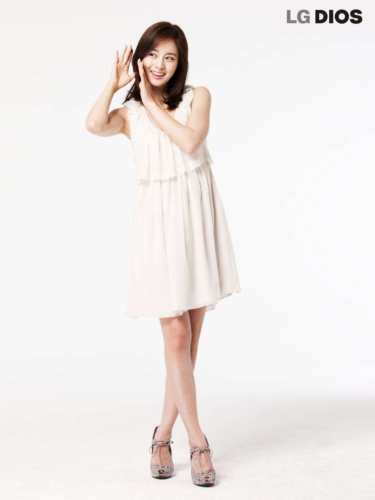Kim Tae Hee LG DIOS smart refrigerator