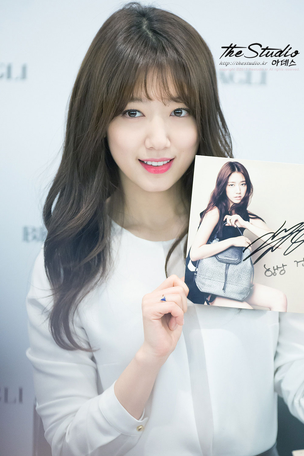 Park Shin Hye Bruno Magli 2015 fan signing event