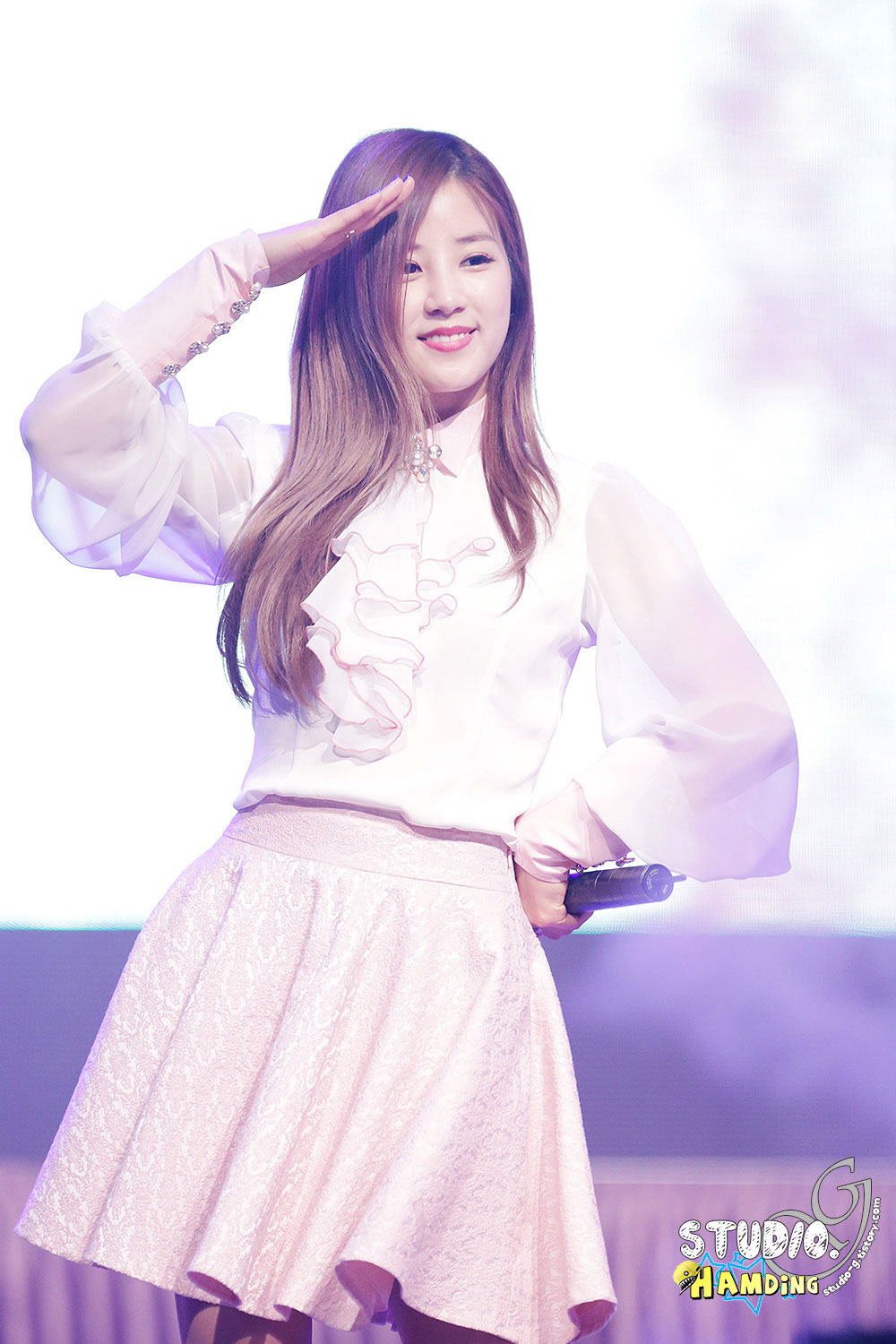 A Pink Chorong ASEA Aviation College Concert