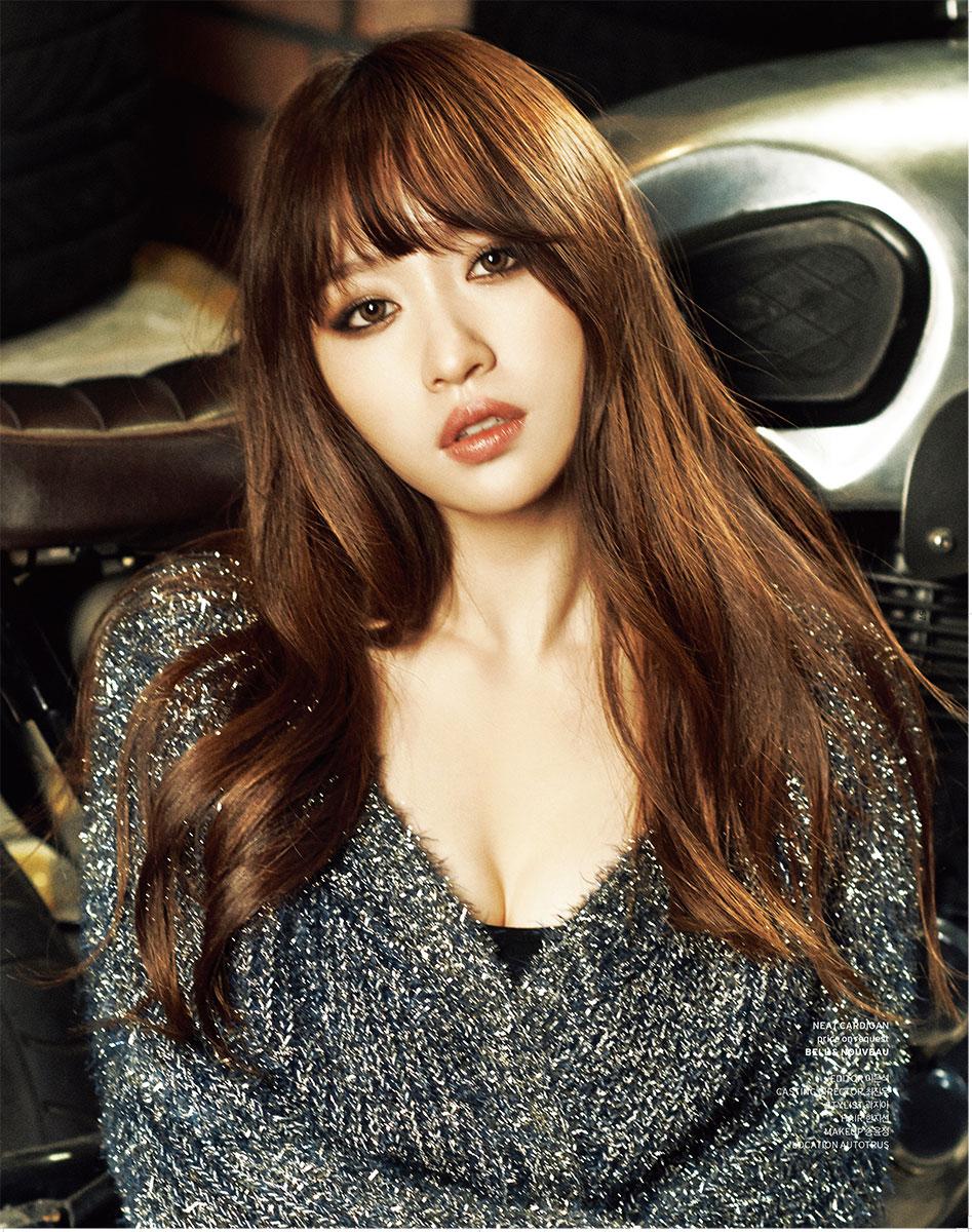 EXID Ahn Hee Yeon Geek Magazine