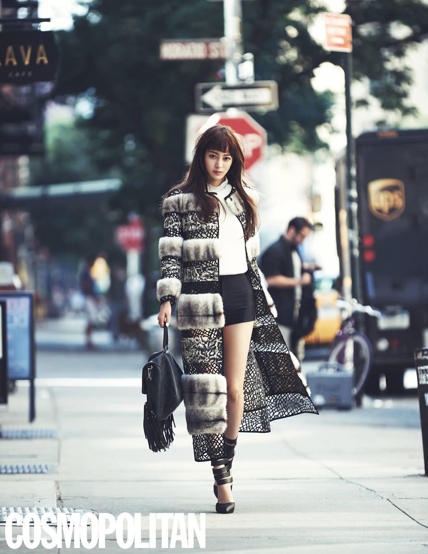 Han Ye Seul Cosmopolitan Magazine
