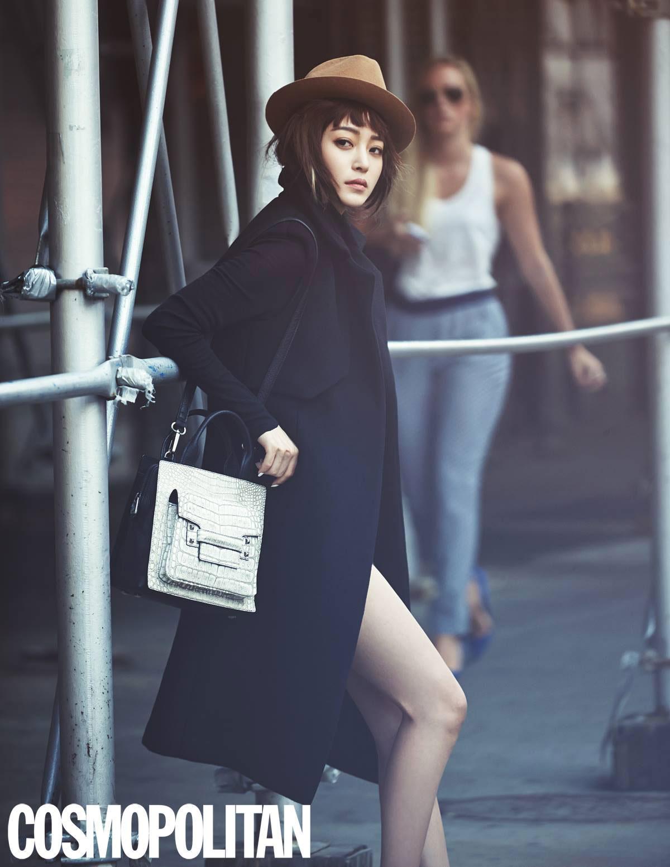 Han Ye Seul Decke Handbags Cosmopolitan Magazine