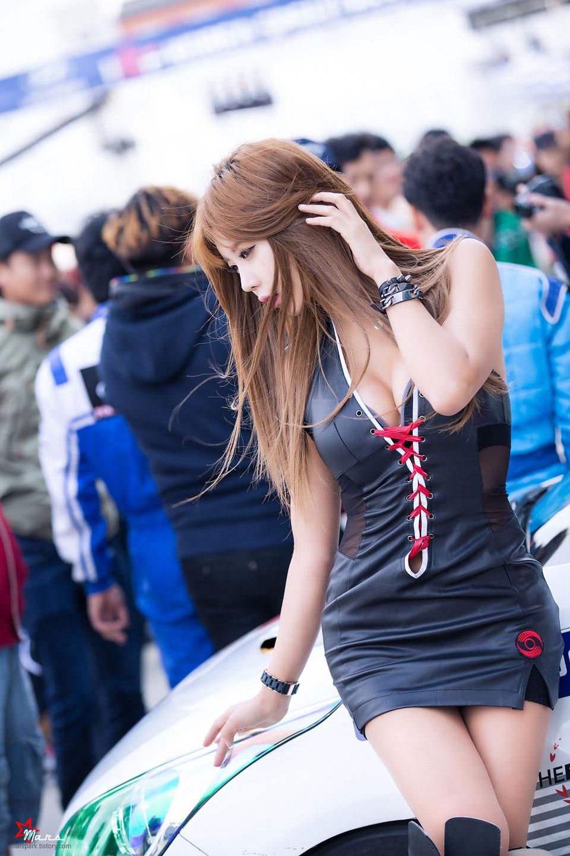 Heo Yun Mi Korea Speed Festival 2014 Hands Motorsport